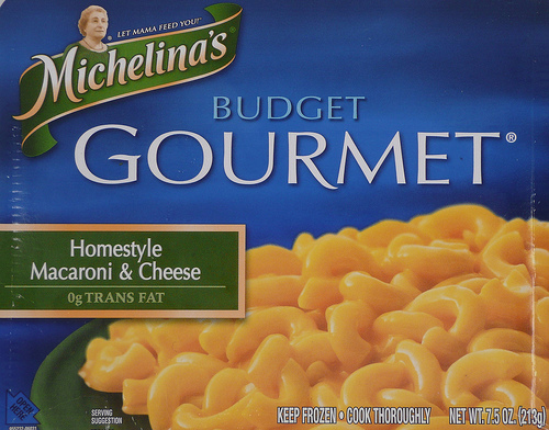Michelina's Budget Gourmet Homestyle Macaroni & Cheese - Ad