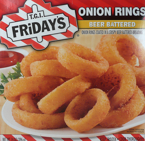 T.G.I. Friday's Onion Rings - Ad